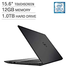 Dell Inspiron 15 5000 Series Touchscreen Laptop - Intel Core i3-8130U Processor 2.2GHz 12GB DDR4 1TB