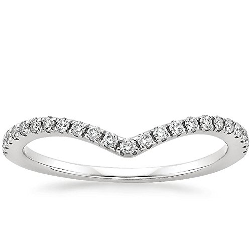 (espere Womens Sterling Silver Eternity Band with AAA CZ 18K Plating Weddings Bands 1.8mm Width)