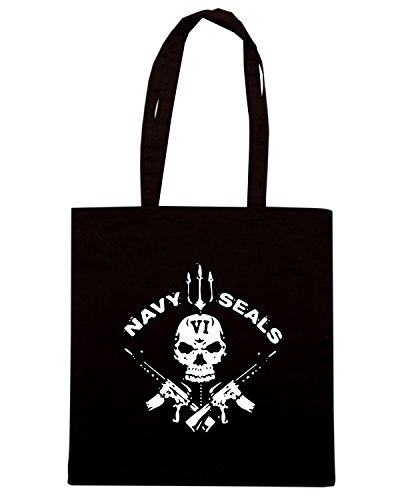 navy Shopping T seals TM0433 Borsa Nero Shirtshock wBAqxCT