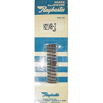 Pack of 2 Raybestos H2156 Professional Grade Drum Brake Adjuster Lever Return Spring