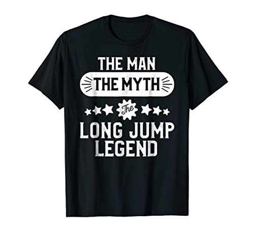 T-shirt Track Sayings (Long Jump Shirt for Men Track and Field Long Jumper Gift)