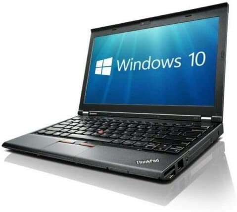 Lenovo X230 (12in Laptop) [Intel Core i5 3320M 2.60GHz, 8GB Memory, 256GB SSD,with Windows 10 Professional (Renewed)