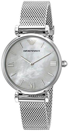 Emporio Armani Women's AR1955 Retro Silver Watch