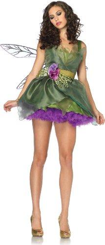 [Leg Avenue Women's Woodland Fairy Costume, Green, Medium] (Fairies Costumes For Women)