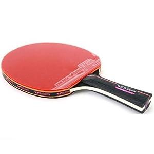 Ping Pong Butterfly Tischtennis Paddel Schläger Bat Shake Hand Grip...