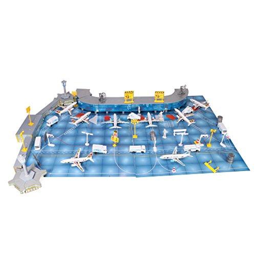 Dovewill 1セット(200枚) プラスチック製  飛行機モデル  旅客機  航空機 モデル キット おもちゃ ギフト
