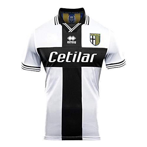 Errea Parma Home Replica Jersey 18/19 (White/Black, XXL) ()