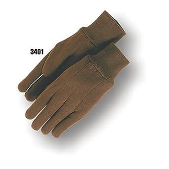 Majestic Guantes Industriales 3401/7, Jersey, talla para mujer, talla pequeña, color marrón (Paquete de 12): Amazon.es: Amazon.es