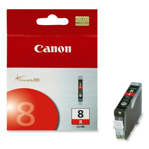 Canon Cli 8 Red Ink (Canon CLI-8 Red Ink Tank 0626B002)