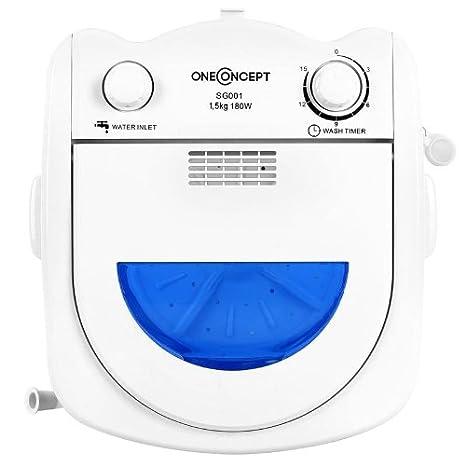 oneConcept SG001 Mini lavadora 1,5kg: Amazon.es: Hogar