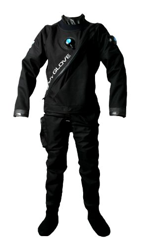 Body Glove mens Drysuit W/ Nylon Bag, Medium