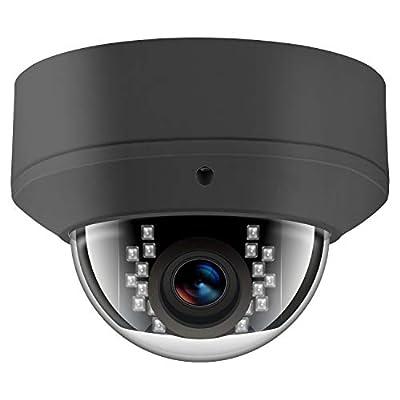 Anpviz 5MP H.265 IR Dome IP Camera PoE, IP Security Camera Night Vision 98ft, Motion Alert, Weatherproof IP66 ONVIF by Anpviz