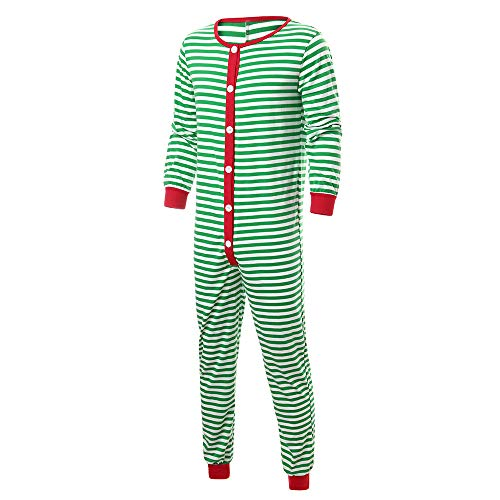 Family Matching Christmas Stripe Pajamas Men Sleepwear for sale  Delivered anywhere in USA