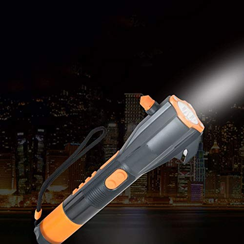 OCDAY XLN 703 Multifunctional Hand Generator Torch Emergency Hammer Seat Belt Cutter