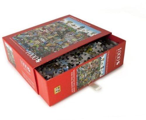 CHARLES FAZZINO Art Manhattan Will Make You Feel Brand New 1000 Piece Jigsaw Puzzle