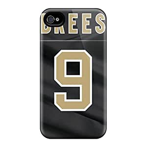 Shock-Absorbing Hard Phone Cases For Iphone 6plus With Customized Attractive New Orleans Saints Pictures CristinaKlengenberg
