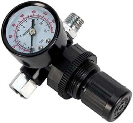 Performance Tool M693 Air Regulator with Gauge
