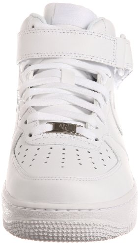 1 Herren '07 Air Basketballschuhe Mid Force White White NIKE Weiß 111 qd6tPpt