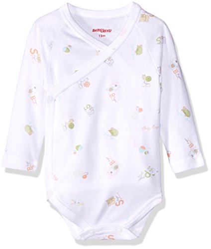 Baby Creysi Body para Bebé, color Blanco, 0 Meses