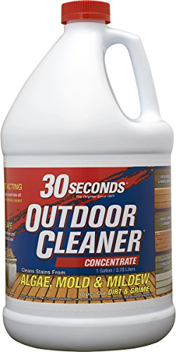 Wet Grass (30 SECONDS Outdoor Cleaner, 1 Gallon - Concentrate (Pack of 4))