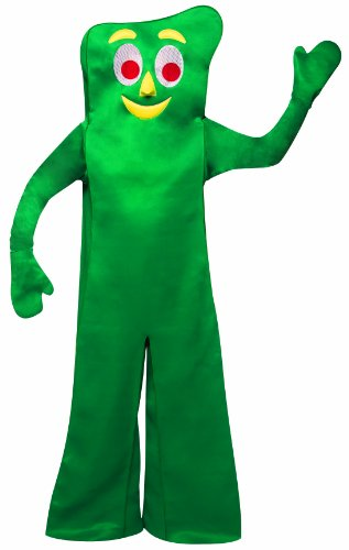 (Rasta Imposta Gumby Costume, Green, One)