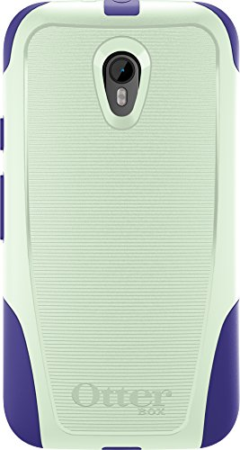 OtterBox COMMUTER Series Case for Motorola Moto G (3rd Gen) - Retail Packaging - MELON BERRY (SAGE GREEN/LIBERTY PURPLE)
