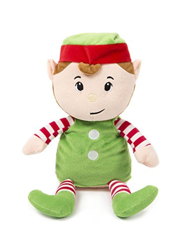 HollyHOME Soft Stuffed Animal Christmas Elf Plush toy Home Decorations Festival Birthday Gift for kids, 14 (Christmas Elf Toy)