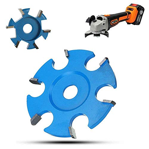 ZJN-JN 切断砥石 ツール角度研削盤付属品高硬度防錆カービング2パック六角ブレードアングルパワーウッドは16ミリメートル絞り角グラインダーのための耐摩耗性 切断工具