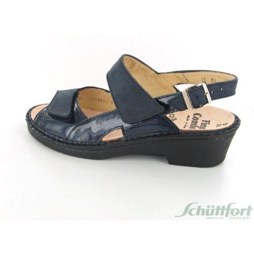 Bleu BIARRITZ Sandales 2603900203 FinnComfort femmes w4HqfYw