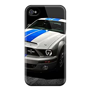 Hot Ford Mustang Shelby Gt500 2013 First Grade Tpu Phone Case For Iphone 4/4s Case Cover