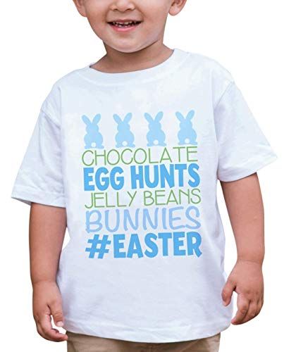 - Custom Party Shop Baby Boy's #Easter Happy Easter T-shirt 4T