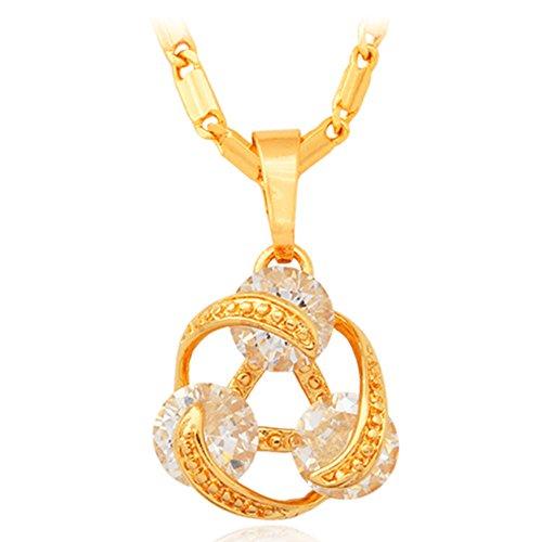 Necklace Fashion Jewelry Colorful Zirconia