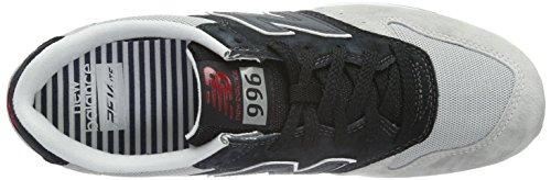Basse New Scarpe Ginnastica da Balance Black Grigio Uomo Mrl996v2 Grey wwpROX1q
