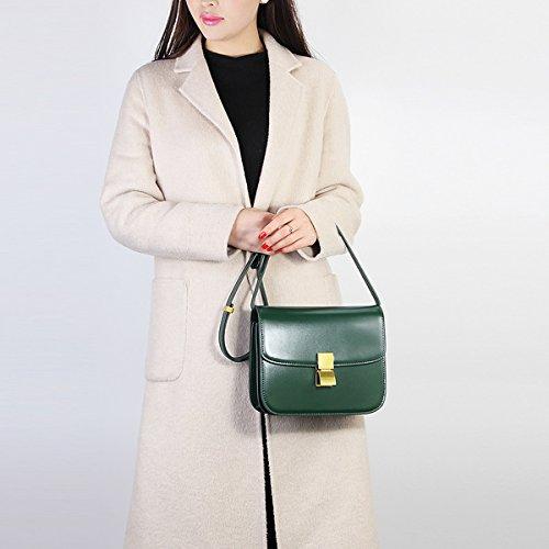 187 Vert LF portés DISSA main à cuir en épaule Sac femme Sac Sac fashion bandoulière 6qdUd5n