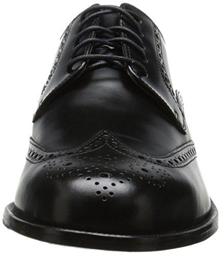Cole Haan Mens Carter Stora Vingspets Derby Shoe Black