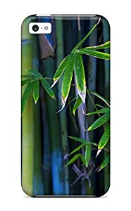 Faddish Phone Bamboo Case For Iphone 5c / Perfect Case Cover wangjiang maoyi