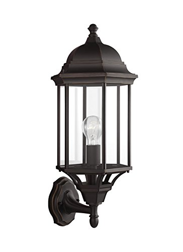 Sea Gull Lighting Antique Bronze Outdoor Wall Light