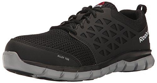 Reebok Work Men's Sublite Work RB4443 Industrial and Construction Shoe Black