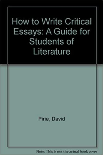 how to structure a critical essay
