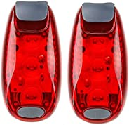 2 Pack LED Safety Light,Clip On Strobe Lights for Runners, Cyclists, Walkers, Joggers, Kids,Pet, Flashing Tail