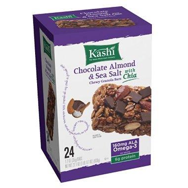 Kashi Chewy Chocolate Almond and Sea Salt Granola Bars (24 ct.) (pack of ()