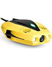 $499 » CHASING Dory Underwater Drone - 1080p Full HD Underwater Drone with Camera for Real Time Viewing, APP Remote Control, Palm-Sized and Portable with Carrying Case, Asparagus Green