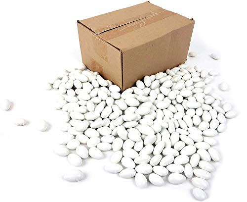 - White Jordan Almonds, 2 lb Bag