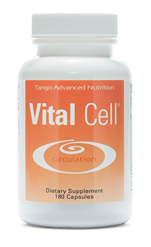 Vital Cell Advanced Anti Aging Formula: All-Natural Herbal Supplement for Circulation Support and Healthy Organ (Proprietary Herbal Formula)