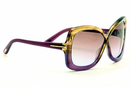 Amazon.com: Tom Ford Calgary ft0227 sunglasses-83z Brown ...