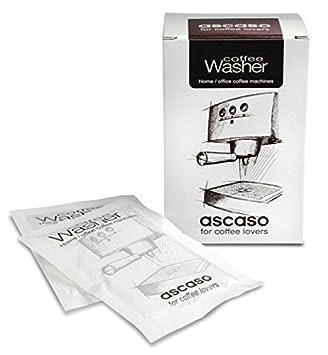 Ascaso Café Lavadora - Descalcificador - Agente Desincrustante - Polvo, 10 Sobres: Amazon.es: Hogar