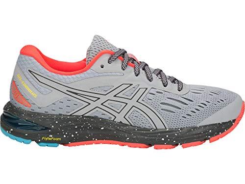 ASICS Women's Gel-Cumulus 20 LE Running Shoes, 9.5M, MID Grey/Dark Grey