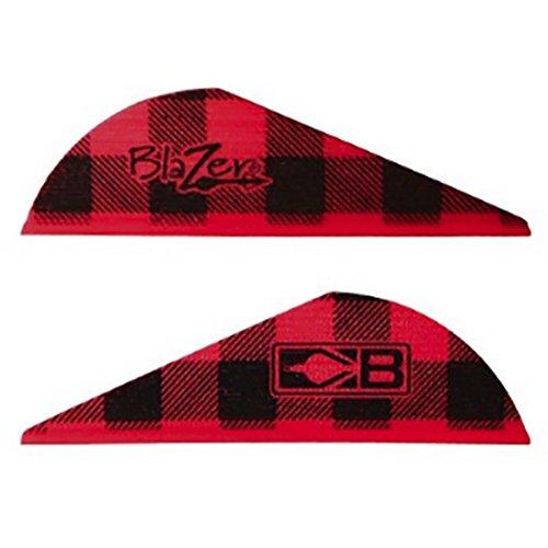 Bohning Blazer 2'' Red Flannel Vanes