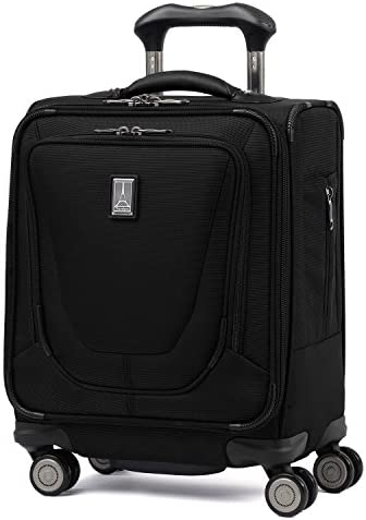 Travelpro Crew 11-Underseat Spinner Tote Carry-On Bag, Black, 16-Inch