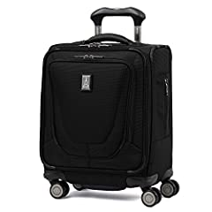 The Travelpro Crew 11 Spinner Tote Suitcase is perfect for quick business trips as it rolls along smoothly in any direction without drifting. With our PrecisionGlide System you have precise control and effortless roll with 3 patented features...